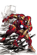 Invincible Iron Man Vol 1 508 Deodato Variant Textless