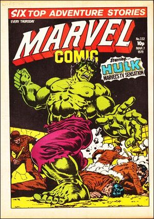 Marvel Comic Vol 1 332