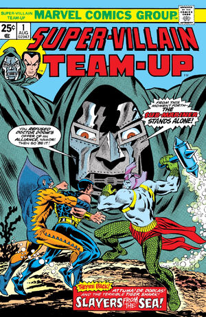 Super-Villain Team-Up Vol 1 1