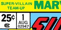 Super-Villain Team-Up Vol 1