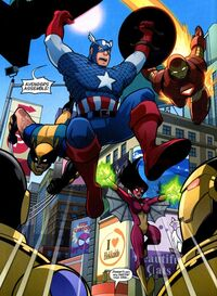 Avengers (Earth-5631) Avengers and Power Pack Assemble! Vol 1 3