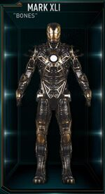 Iron Man Armor MK XLI (Earth-199999)