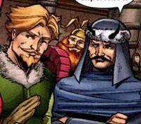 Warriors Three (Earth-20051) from Marvel Adventures Spider-Man Vol 1 40