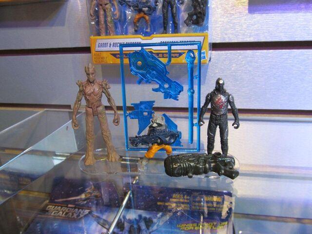 File:Groot Rocket and Sakaaran (Earth-199999) action figures.jpg