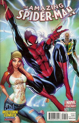 File:Amazing Spider-Man Vol 3 1 Midtown Comics Exclusive Variant.jpg