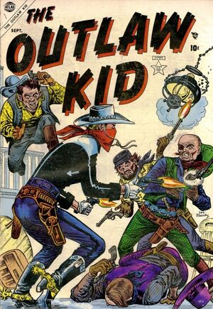 Outlaw Kid Vol 1 1