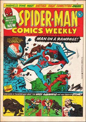 Spider-Man Comics Weekly Vol 1 26