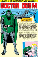 Doctor Doom Gallery Page from Fantastic Four Annua Vol 1 1