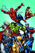 History of the Marvel Universe Vol 1 1 Textless