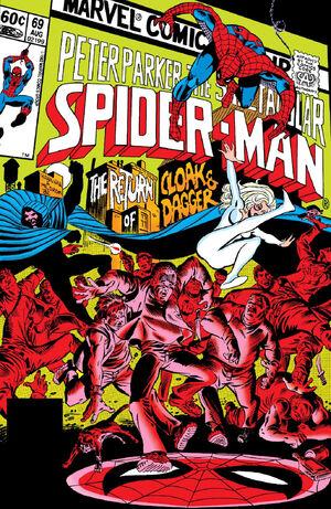 Peter Parker, The Spectacular Spider-Man Vol 1 69