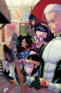 Young Avengers Vol 2 3 Moore Variant Textless
