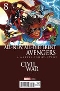 All-New, All-Different Avengers Vol 1 8 Civil War Variant