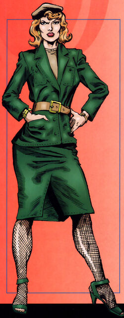 Jean DeWolff (Earth-616) from Official Handbook of the Marvel Universe Spider-Man Vol 1 1 0001