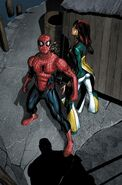 Peter Parker and Alana Jobson (Earth-616) from Amazing Spider-Man Vol 1 549 0001