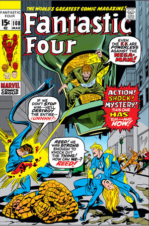 Fantastic Four Vol 1 108
