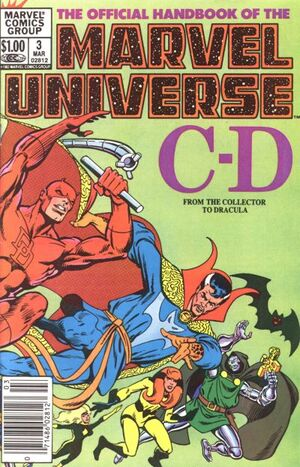 Official Handbook of the Marvel Universe Vol 1 3
