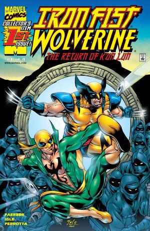 Iron Fist Wolverine Vol 1 1