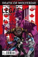 Death of Wolverine The Logan Legacy Vol 1 1 Canada Variant