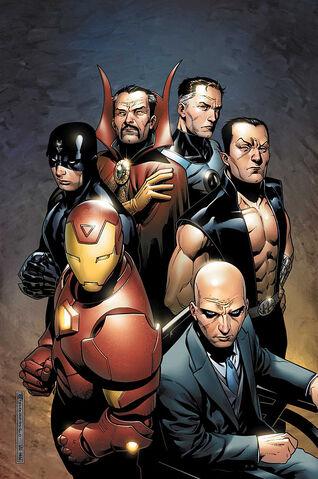 File:New Avengers Illuminati Vol 2 1 Textless.jpg
