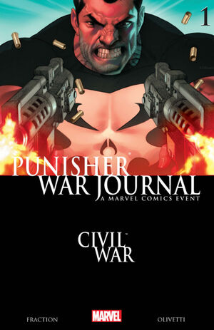 Punisher War Journal Vol 2 1