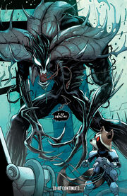 Groot (Earth-616) possessed by Venom (Symbiote) (Earth-616) from Guardians of the Galaxy Vol 3 21