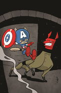Captain America Vol 7 16.NOW Animal Variant Textless