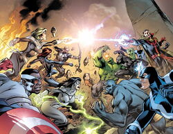 Avengers Vol 5 39 and New Avengers Vol 3 28 Textless