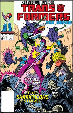 Transformers The Movie Vol 1 2