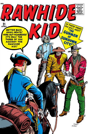 Rawhide Kid Vol 1 21
