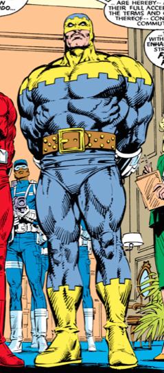 Louis Hamilton (Earth-616) from Uncanny X-Men Vol 1 223