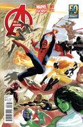 Avengers Vol 5 3 50 Years of Avengers Variant
