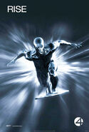 Fantastic Four Rise of the Silver Surfer poster