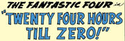 Fantastic Four Vol 1 7 Part 4 Title