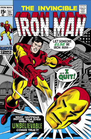 Iron Man Vol 1 21