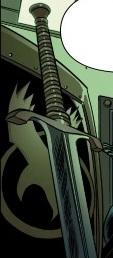 Ebony Blade from Spider-Island Vol 1 3 001