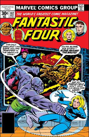 Fantastic Four Vol 1 182