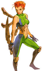 Marrow (Sarah) (Earth-30847) from Marvel vs Capcom 2 New Age of Heroes 0001