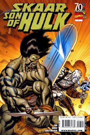 Skaar Son of Hulk Vol 1 7