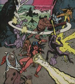 Tribe of the Moon (Earth-616) - Alpha Flight Vol 1 83 001