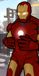 Anthony Stark (Earth-TRN461) from Spider-Man Unlimited 001