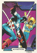 Steven Rogers and Jack Monroe (Earth-616) from Mike Zeck (Trading Cards) 0004