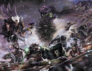Guardians of the Galaxy & X-Men Black Vortex Alpha Vol 1 1 and Guardians of the Galaxy & X-Men Black Vortex Omega Vol 1 1 Lozano Variant Textless