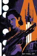 Princess Leia Vol 1 3 Francavilla Textless Variant