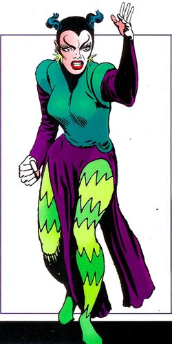 Shazana (Earth-616) from Official Handbook of the Marvel Universe Mystic Arcana The Book of Marvel Magic Vol 1 1 0001