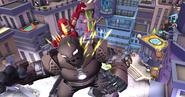 Anthony Stark (Earth-91119) vs Obadiah Stane (Earth-91119) Marvel Super Hero Squad Online 0001