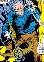 Wolfgang von Strucker (Robot) (Earth-616) from Captain America Vol 1 131 001