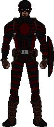 Super-Soldier With Sheild