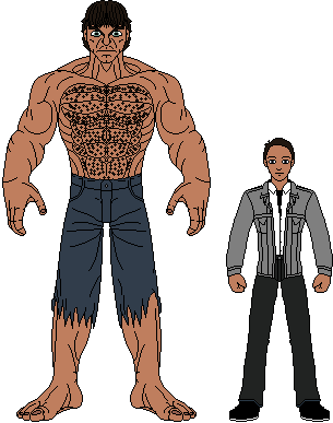 Image - Hulk and david banner height comparison.png | Marvel ...