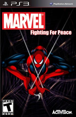 File:Marvel- Fighting For Peace (Spider-Man Cover).jpg