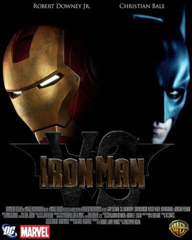 File:Iron Man vs Batman poster 2 by RAK00N.jpg